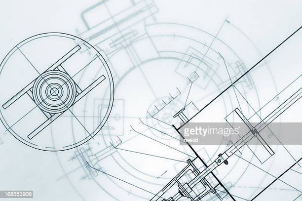 Ingénierie mécanique Blueprint