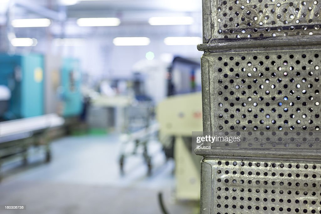 Mechanical industry crates background : Stock Photo