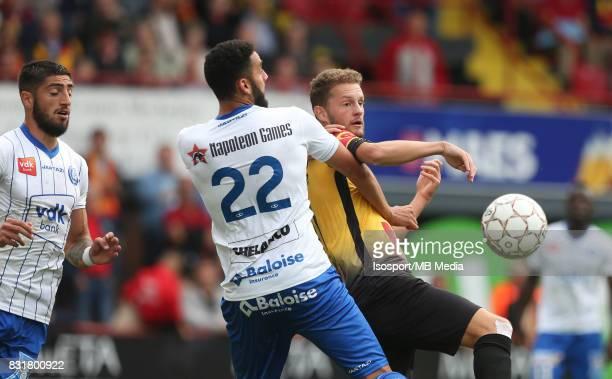 20170812 Mechelen Belgium / Kv Mechelen v Kaa Gent / 'nDylan BRONN Mats RITS'nFootball Jupiler Pro League 2017 2018 Matchday 3 / 'nPicture by Vincent...