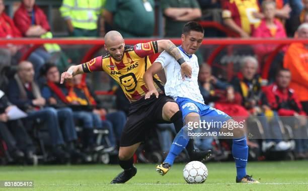 20170812 Mechelen Belgium / Kv Mechelen v Kaa Gent / 'nYohan CROIZET Yuya KUBO'nFootball Jupiler Pro League 2017 2018 Matchday 3 / 'nPicture by...