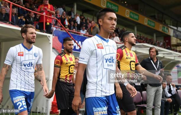 20170812 Mechelen Belgium / Kv Mechelen v Kaa Gent / 'nYuya KUBO'nFootball Jupiler Pro League 2017 2018 Matchday 3 / 'nPicture by Vincent Van...