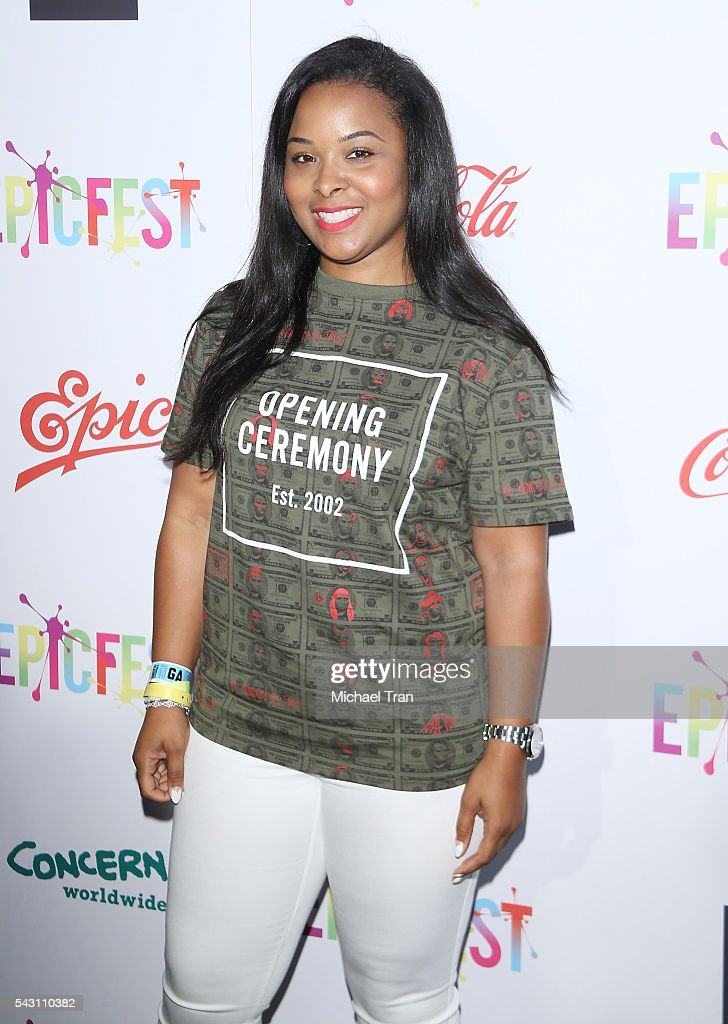 Mechelle Epps arrives at the 2nd Annual Epic Fest held at Sony Pictures Studios on June 25, 2016 in Culver City, California.
