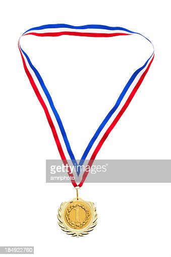 Medaille für first place
