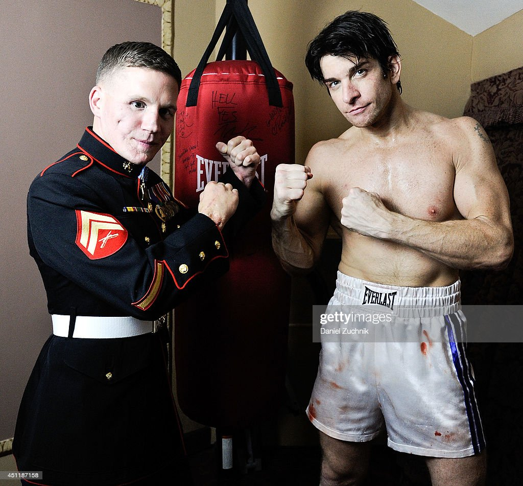 medal of honor recipient corporall kyle carpenter attends