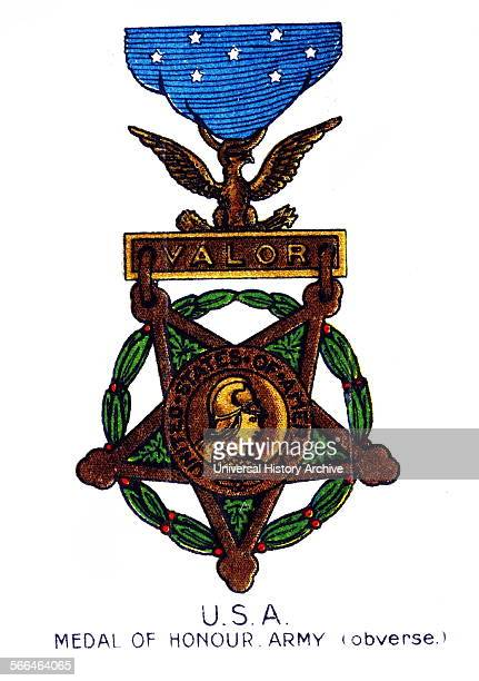 USA Medal of Honour Army World War 1