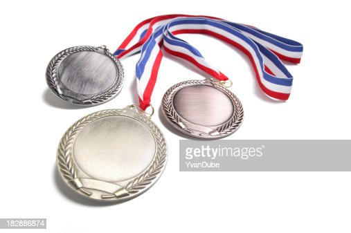 medals isolated on white(w/path)