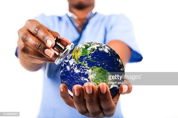 Medcial exam of our planet
