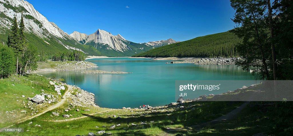 Medecine Lake - Jasper national park