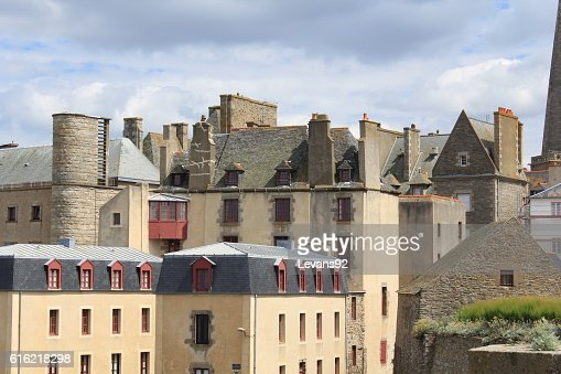 medevial town : Stock Photo