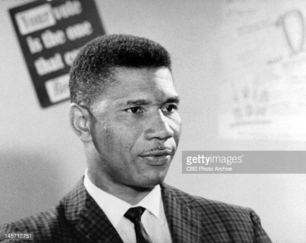 Medgar Evers being interviewed for CBS Reports The interview originally conducted in the summer of 1962 originally broadcast June 12 the evening of...