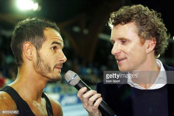 Medhi BAALA / Denis BROGNIART REcord de France Mile Meeting de Lievin