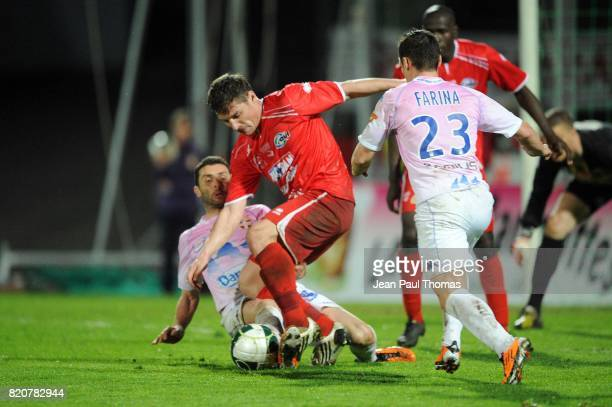 Medhi MOSTEFA Evian Thonon / Nimes 29e journee Ligue 2