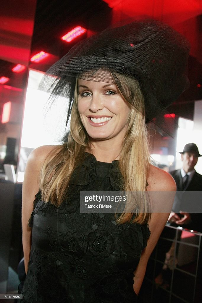 Media and TV personality Charlotte Dawson attends the Motorola marquee at the Emirates Melbourne Cup Day 2006 part of the four day Melbourne Cup...