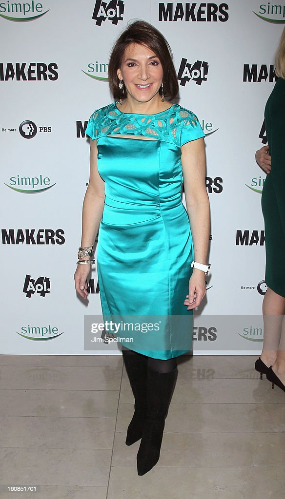 Media executive Bonnie Fuller attends the 'Makers: Women Who Make America' New York Premiere at Alice Tully Hall at Lincoln Center on February 6, 2013 in New York City.