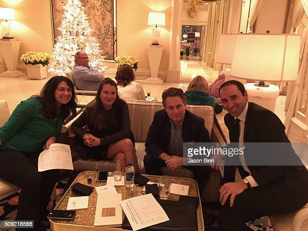 Media Manager at Wynn Resorts Lisa Parrillo Isabelle McTwigan Jason Binn and Executive Director of Brand Marketing Advertising at Wynn Las Vegas...