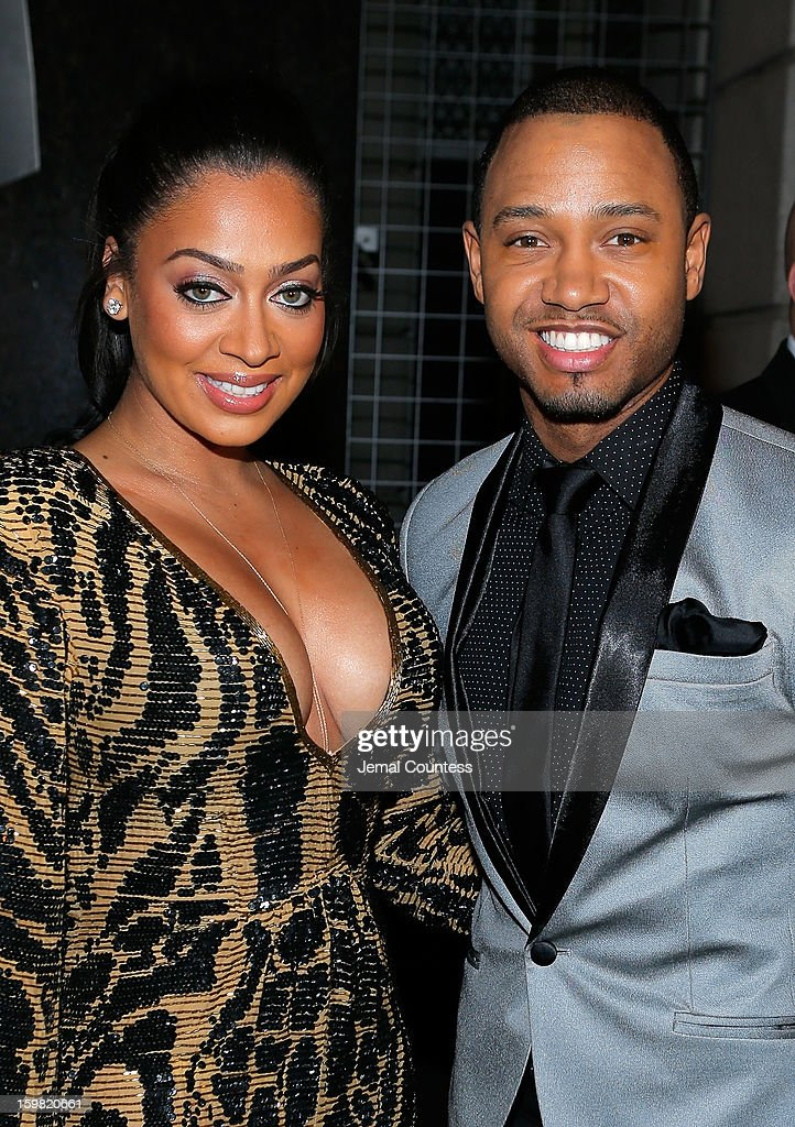 Media personalities LaLa Anthony and Terrence J attend The Hip-Hop Inaugural Ball II at Harman Center for the Arts on January 20, 2013 in Washington, DC.