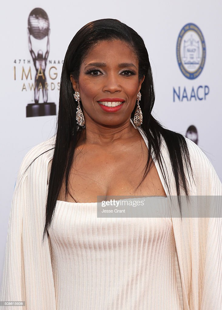 Media personality Areva Martin attends the 47th NAACP Image Awards presented by TV One at Pasadena Civic Auditorium on February 5, 2016 in Pasadena, California.