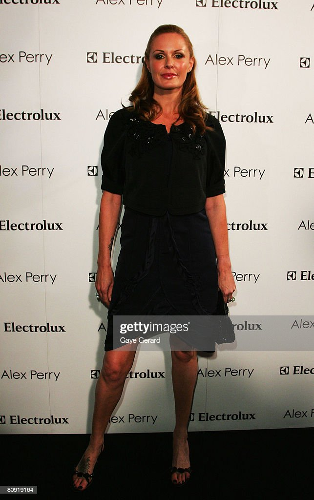 Media personality Charlotte Dawson attends the Alex Perry catwalk show during the second day of the Rosemount Australian Fashion Week Spring/Summer...