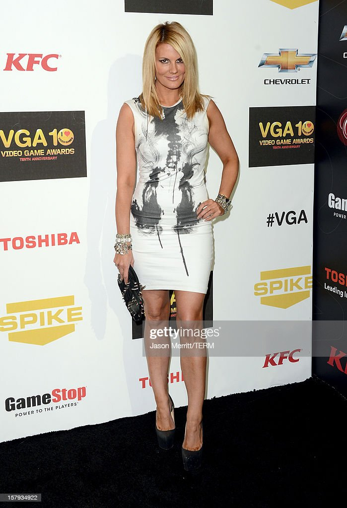 Media personality Courtney Hansen arrives at Spike TV's 10th annual Video Game Awards at Sony Pictures Studios on December 7, 2012 in Culver City, California.