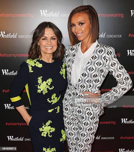Media personality Giuliana Rancic and Lisa Wilkinson arrive at a red carpet event at Westfield Doncaster on April 14 2014 in Melbourne Australia