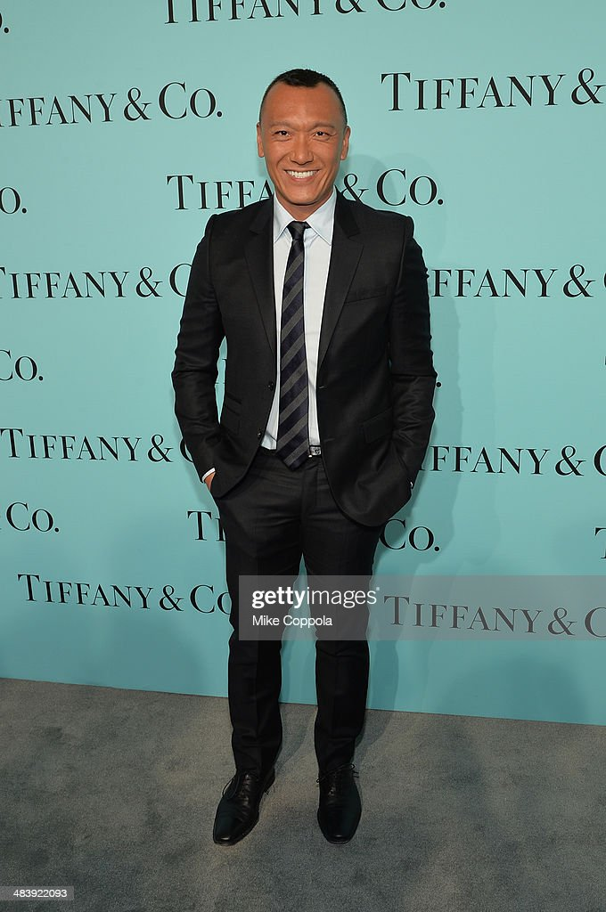 Media personality <a gi-track='captionPersonalityLinkClicked' href=/galleries/search?phrase=Joe+Zee&family=editorial&specificpeople=2257766 ng-click='$event.stopPropagation()'>Joe Zee</a> attends the Tiffany Debut of the 2014 Blue Book on April 10, 2014 at the Guggenheim Museum in New York, United States.