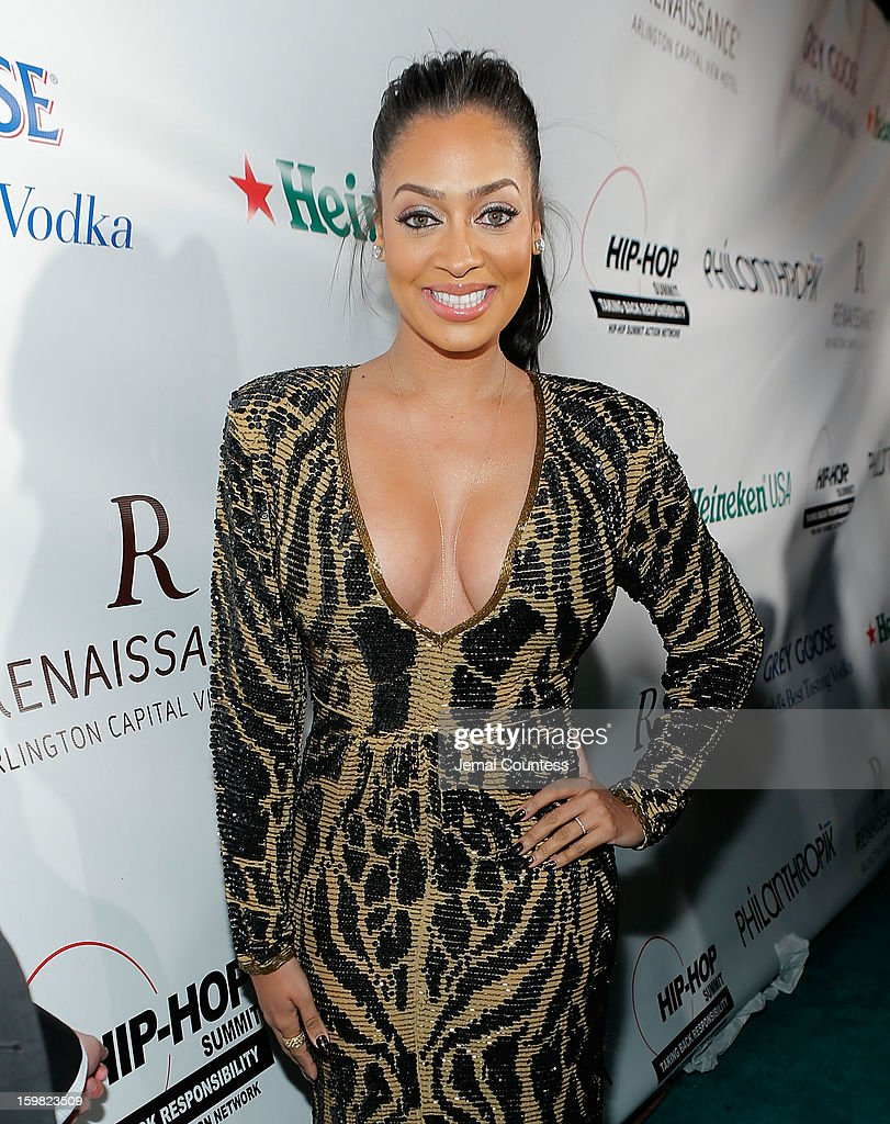 Media personality LaLa Anthony attends The Hip-Hop Inaugural Ball II at Harman Center for the Arts on January 20, 2013 in Washington, DC.