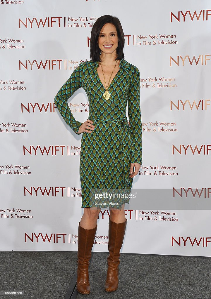Media personality Megan Meany attends 2012 New York Women In Film And Television Muse Awards at New York Hilton – Grand Ballroom on December 13, 2012 in New York City.