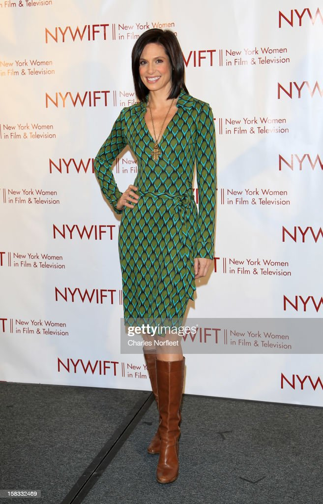 Media personality Megan Meany attends the 2012 New York Women In Film And Television Muse Awards at the Hilton New York on December 13, 2012 in New York City.