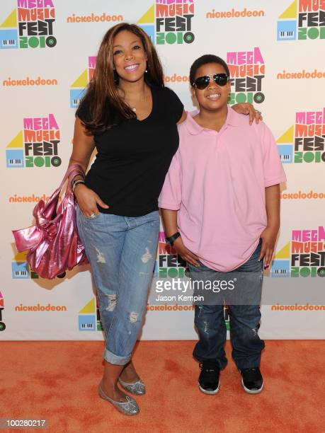 Media personality Wendy Williams and Kevin Williams attend Nickelodeon's 'Mega Music Fest' at the Brooklyn Academy of Music on May 22 2010 in the...