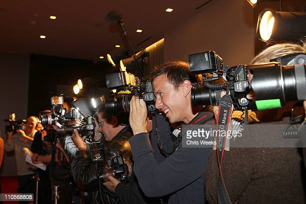 Media photograph celebrities arriving at the 2011 Tribeca Film Festival KickOff party at the W Hollywood on March 21 2011 in Hollywood California