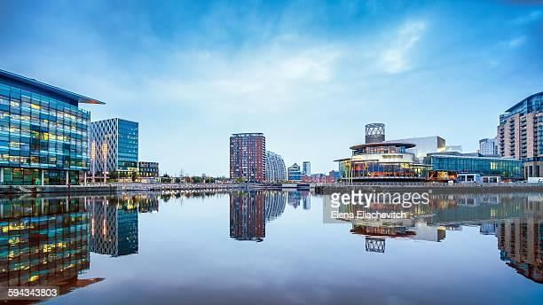 MediaCity UK, Salford Quays, Manchester, England
