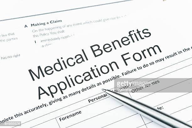 Medical Benefits Application Form