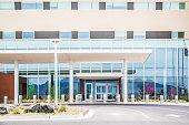 University of New Mexico Sandoval Regional Medical Center Hospital Modern Building Facade