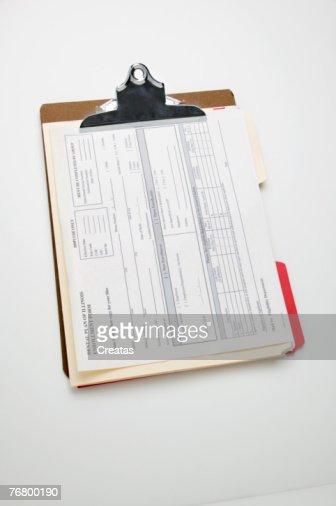 Medical chart : Stock Photo
