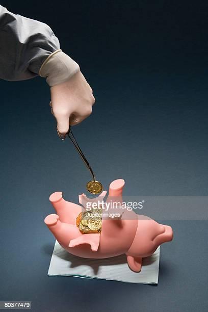 Medical costs concept
