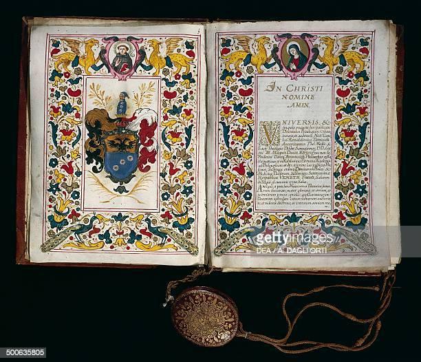 Medical degree from the University of Brescia in 1687 Rome Museo Storico Nazionale Dell'Arte Sanitaria