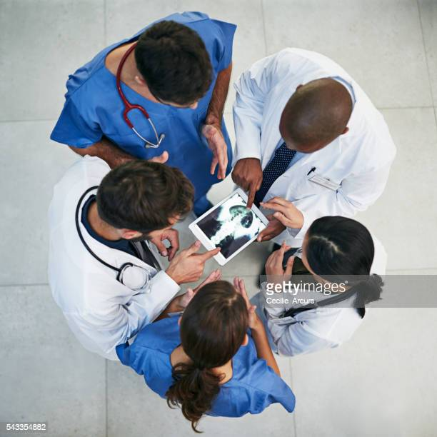 Medical diagnosis made easy with modern technology and teamwork