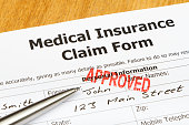 Approved Medical Insurance Claim Form
