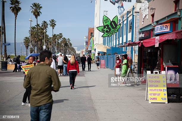 Medizinische Haschisch store in Venice Beach