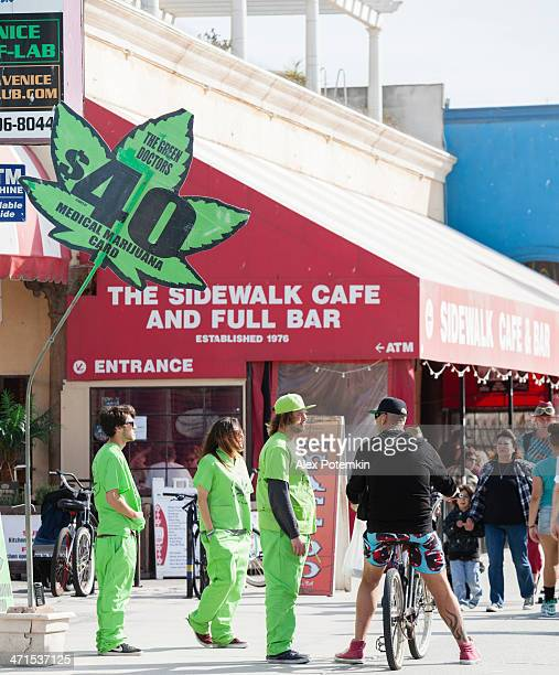 Medical Marijuana store on Venice Beach