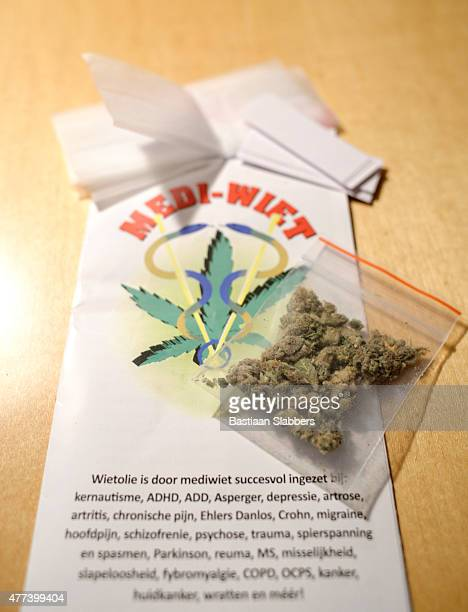 Medical Marijuana with information leaflet
