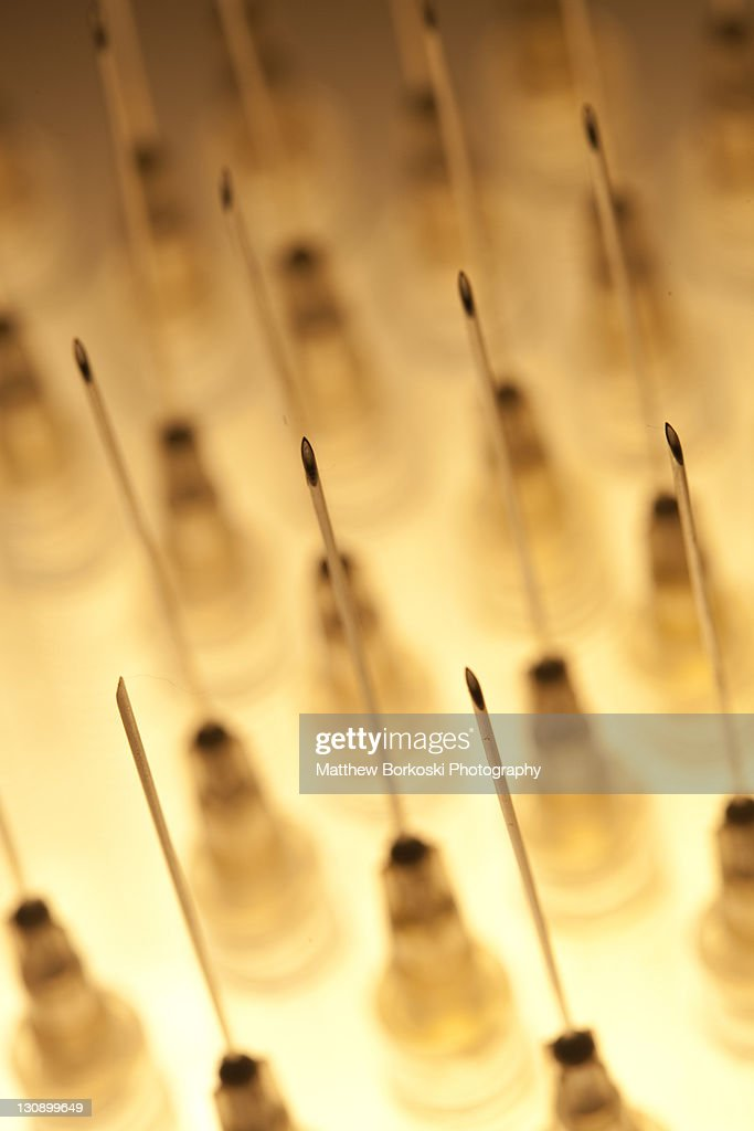 medical needles : Stock Photo