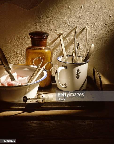 医療: 伝統的な備品