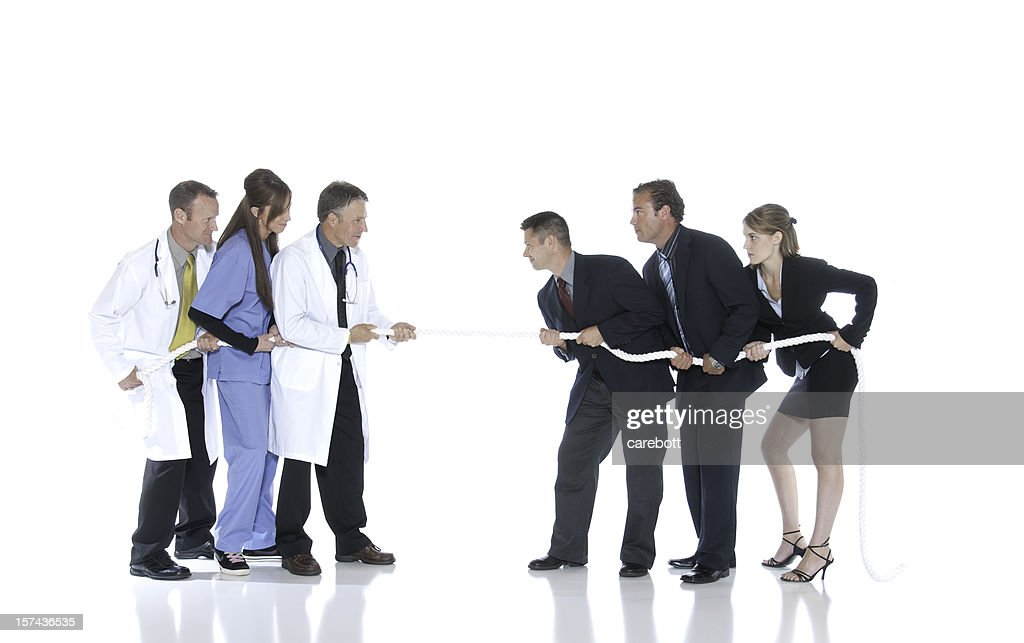 Medical Professionals vs. Businesspeople