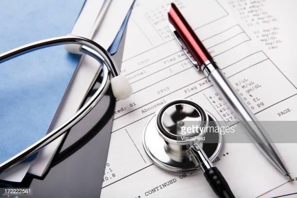 医療記録&聴診器