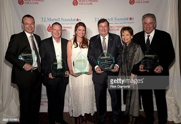Medical Research Advancement Award Honoree Dr Jeffery Balser Frances Preston Lifetime Music Industry Achievement Award honoree Bill Hearn Lifetime...