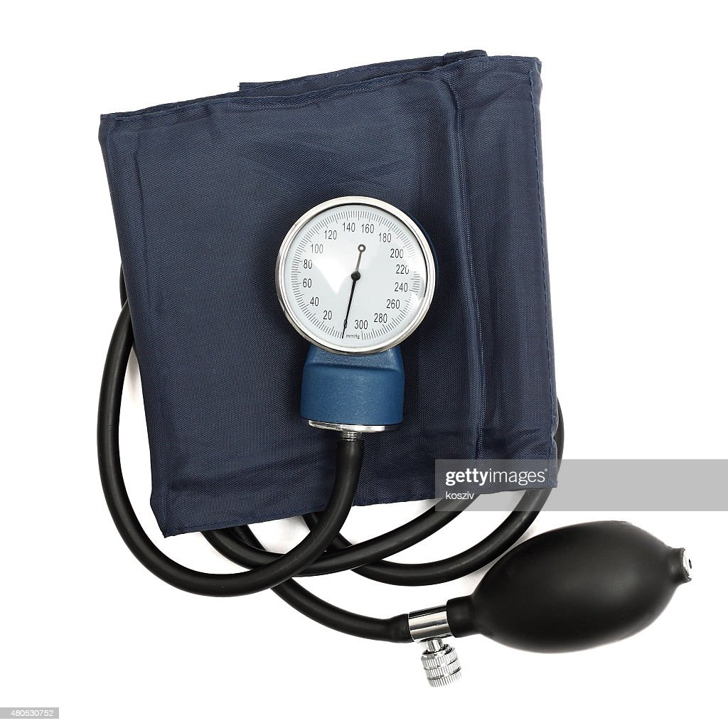 Medical sphygmomanometer : Stock Photo