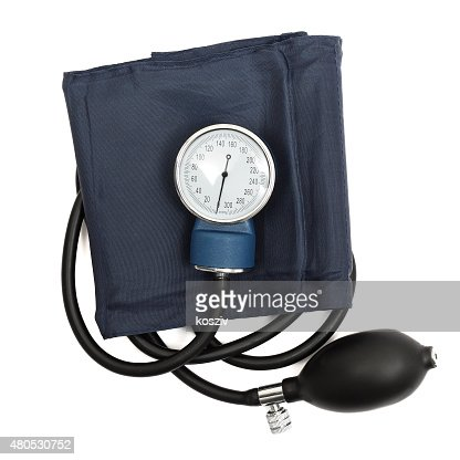 Medical sphygmomanometer : Stock Photo