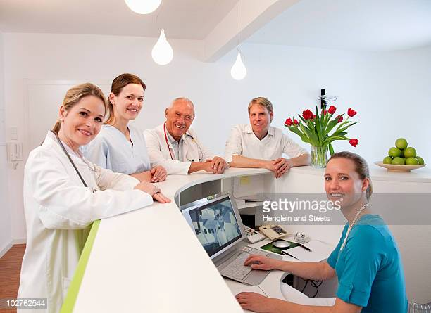Medical team in surgery