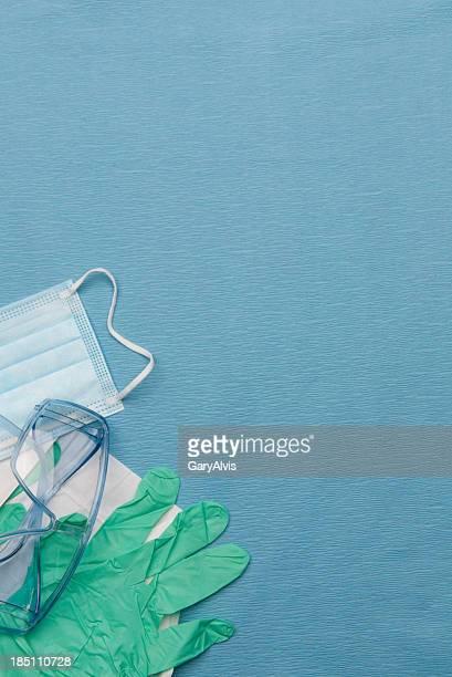 Medizinische oder zahnmedizinische Untersuchung Sicherheitsausrüstung